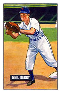 1951 Bowman #213 Neil Berry