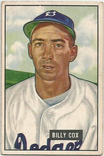 1951 Bowman #224 Billy Cox
