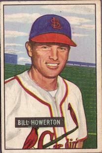 1951 Bowman #229 Bill Howerton