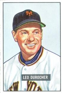 1951 Bowman #233 Leo Durocher MG