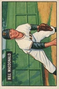 1951 Bowman #239 Bill MacDonald RC