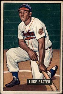 1951 Bowman #258 Luke Easter RC