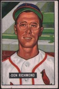 1951 Bowman #264 Don Richmond RC