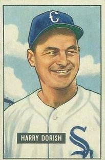 1951 Bowman #266 Harry Dorish RC