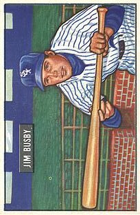 1951 Bowman #302 Jim Busby RC