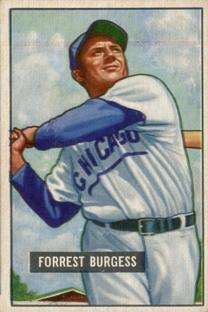 1951 Bowman #317 Smoky Burgess RC