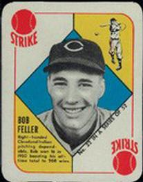 1951 Topps Red Backs #22 Bob Feller