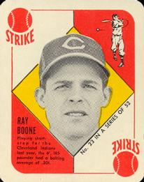 1951 Topps Red Backs #23 Ray Boone RC front image
