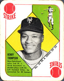 1951 Topps Red Backs #32 Henry Thompson