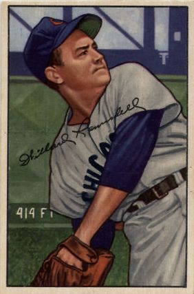 1952 Bowman #22 Willard Ramsdell