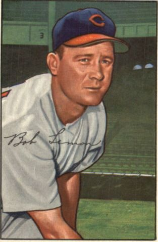 1952 Bowman #23 Bob Lemon