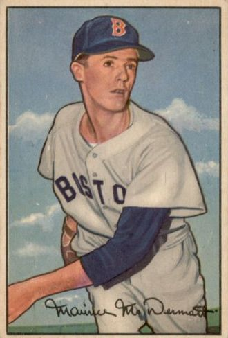 1952 Bowman #25 Mickey McDermott