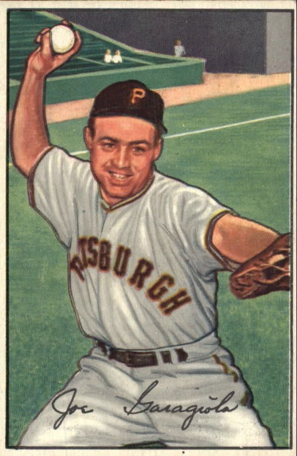 1952 Bowman #27 Joe Garagiola