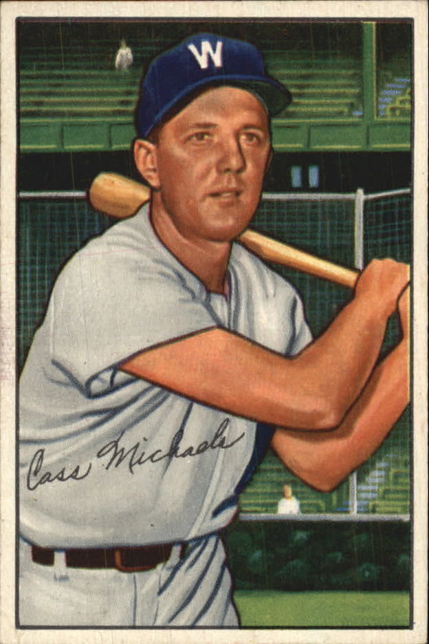 1952 Bowman #36 Cass Michaels