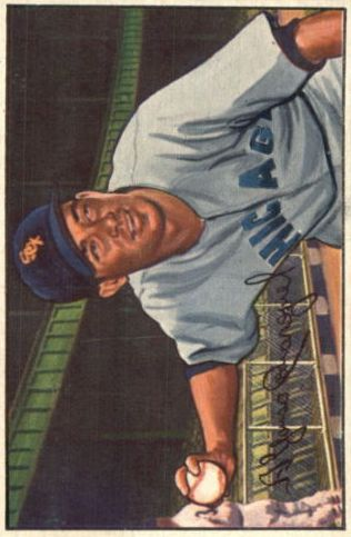 1952 Bowman #41 Chico Carrasquel