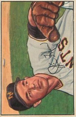1952 Bowman #49 Jim Hearn