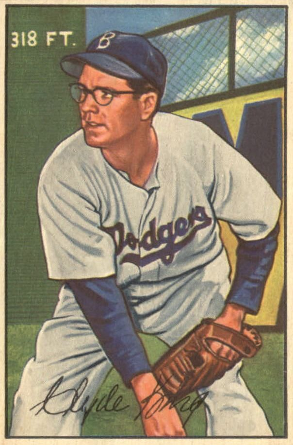 1952 Bowman #56 Clyde King