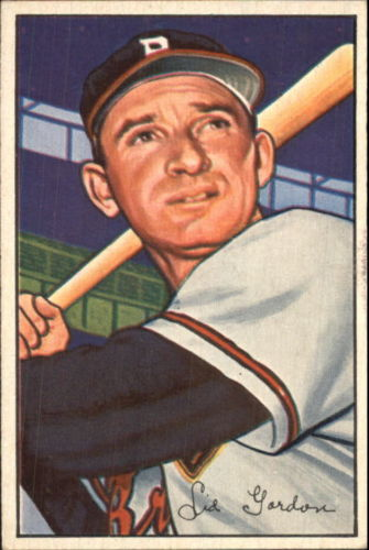 1952 Bowman #60 Sid Gordon