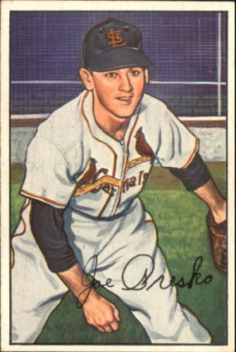 1952 Bowman #62 Joe Presko RC