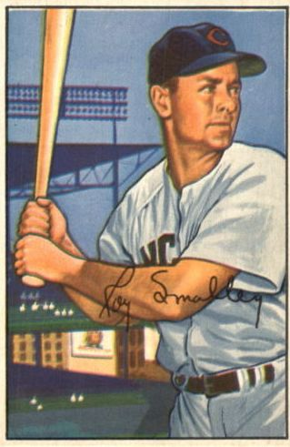 1952 Bowman #64 Roy Smalley