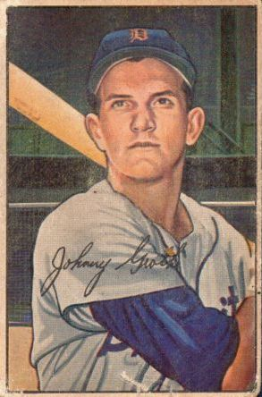 1952 Bowman #67 Johnny Groth