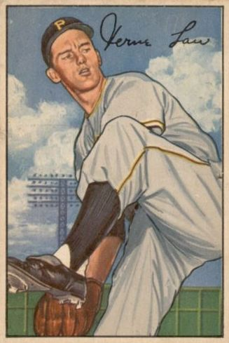 1952 Bowman #71 Vern Law