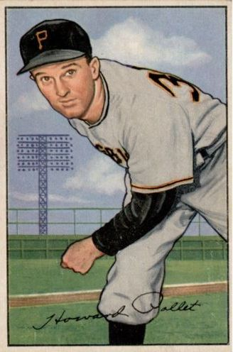 1952 Bowman #83 Howie Pollet