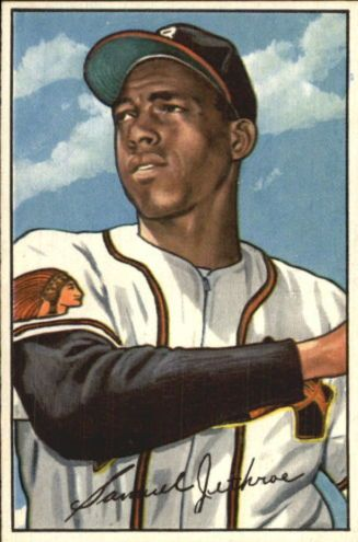 1952 Bowman #84 Sam Jethroe