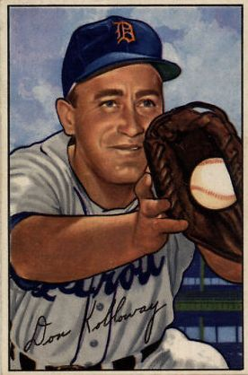 1952 Bowman #91 Don Kolloway