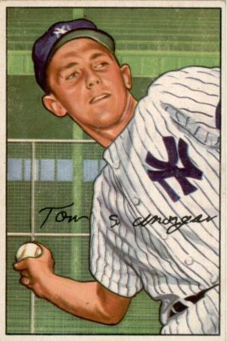 1952 Bowman #109 Tom Morgan RC