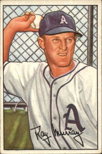 1952 Bowman #118 Ray Murray RC