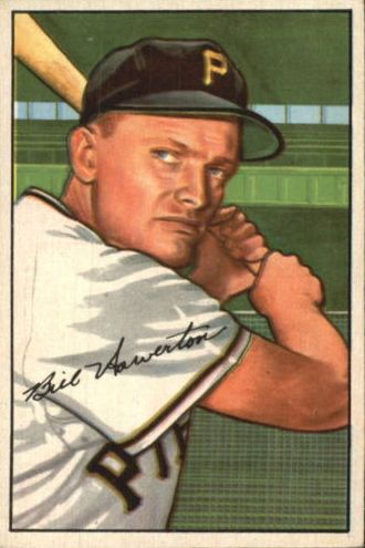 1952 Bowman #119 Bill Howerton