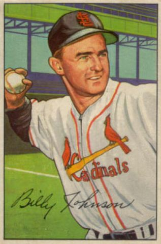 1952 Bowman #122 Billy Johnson