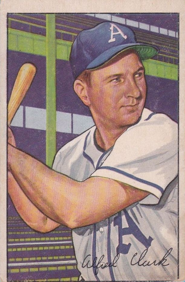 1952 Bowman #130 Allie Clark