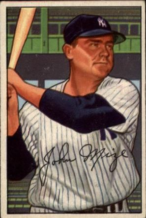 1952 Bowman #145 Johnny Mize