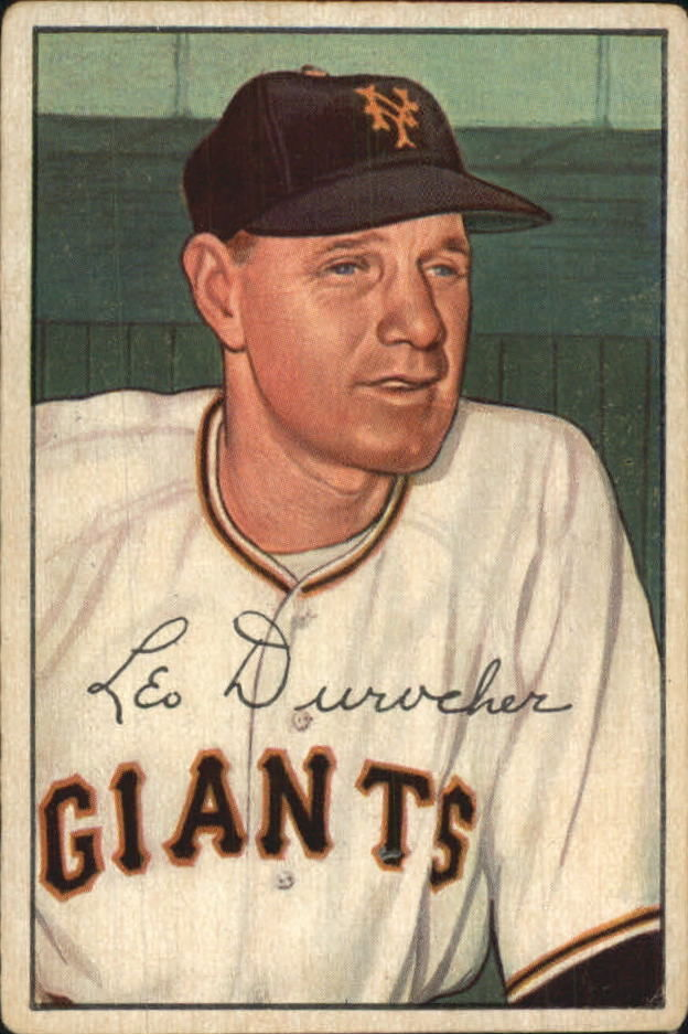 1952 Bowman #146 Leo Durocher MG