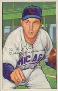 1952 Bowman #159 Dutch Leonard
