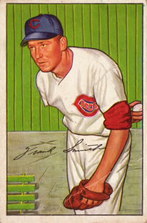 1952 Bowman #186 Frank Smith RC