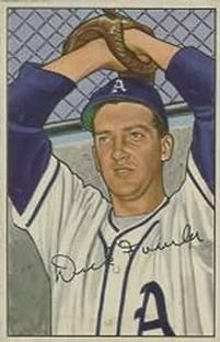 1952 Bowman #190 Dick Fowler