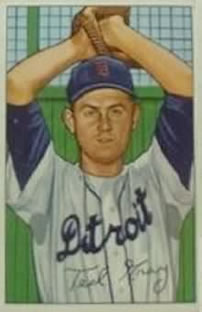 1952 Bowman #199 Ted Gray