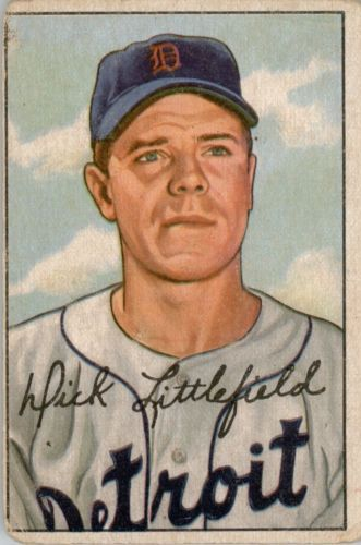 1952 Bowman #209 Dick Littlefield RC