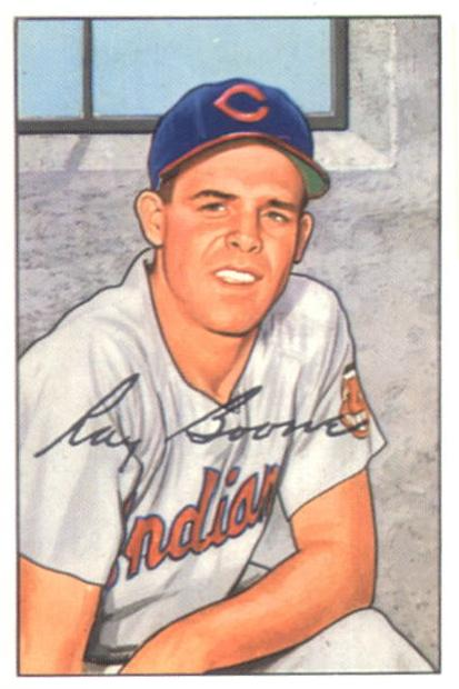 1952 Bowman #214 Ray Boone