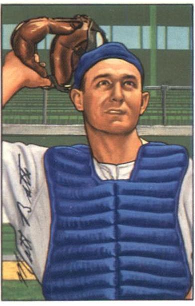 1952 Bowman #216 Matt Batts