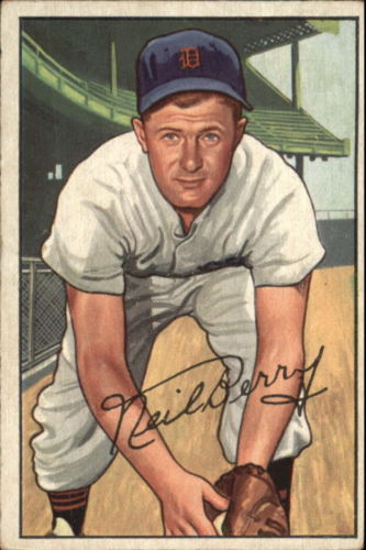 1952 Bowman #219 Neil Berry