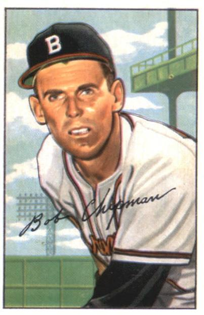 1952 Bowman #228 Bob Chipman