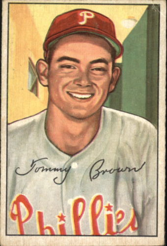 1952 Bowman #236 Tommy Brown