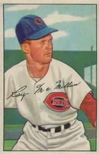 1952 Bowman #238 Roy McMillan RC