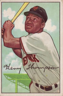 1952 Bowman #249 Hank Thompson