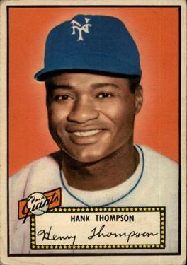 1952 Topps #3 Hank Thompson