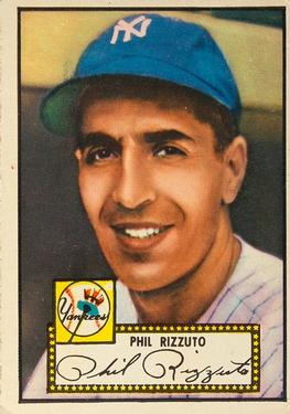 1952 Topps #11A Phil Rizzuto Black